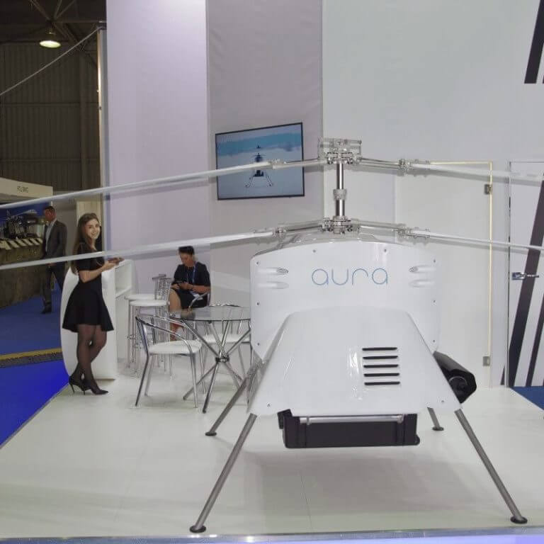 Unmanned helicopter AURA 100 will be shown at MAKS-2019